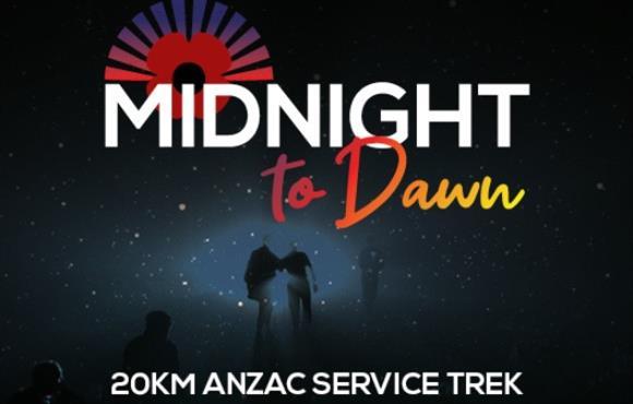 Midnight to Dawn ANZAC Service Trek
